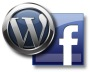 Logos de WordPress et Facebook